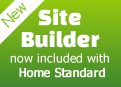 Site Builder included with Home Standard