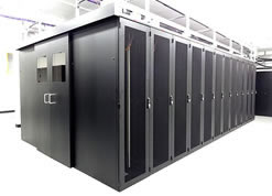 Full Rack Enclosures at Milton Keynes Data Centre
